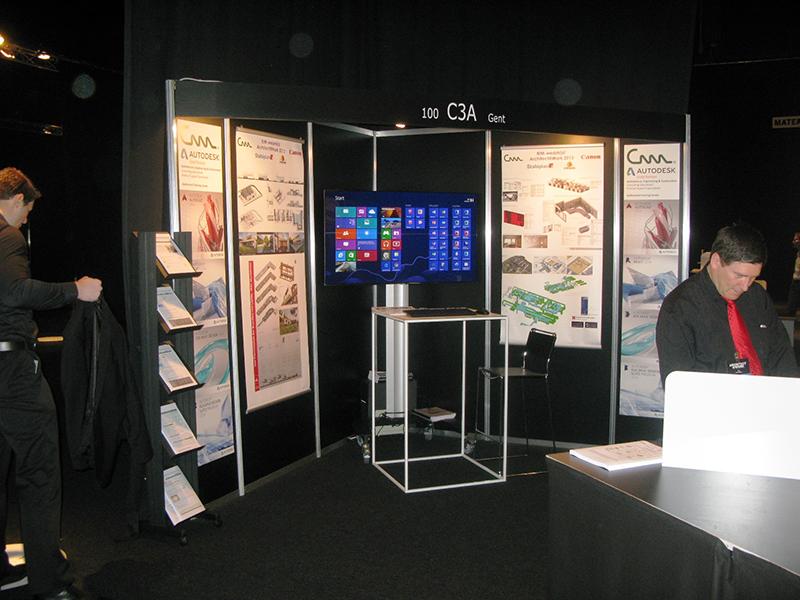 Exhibition Stand Revit : Architect at work verslag c a