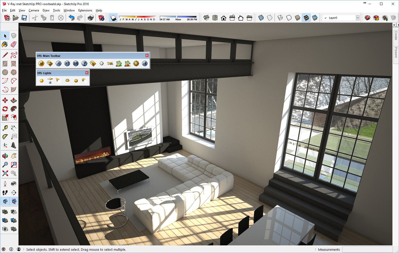 c3a cursus v ray for sketchup pro c3a