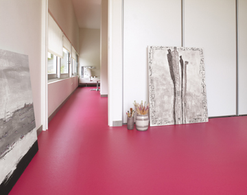 Vinyl Vloer Kleuren : Colours with a human touch gevloerd in kleur marmoleum piano